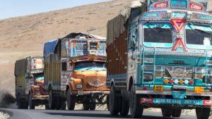 Truck in India