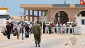 Tunisia border