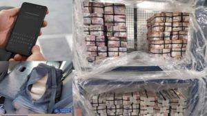 UK police seized various equipment