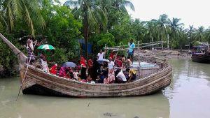 Villagers evacuated