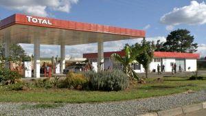 Zimbabwe gas stations