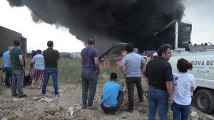 5 killed in factory fire in NW Turkey