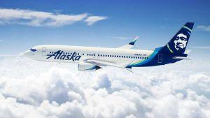 Alaska Airlines flight