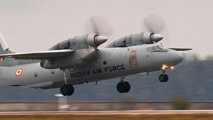 AN-32 Indian airforce