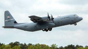 C-130J-30 Super Hercules plane