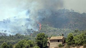 Catalonia wildfire