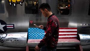 Chinese tourist in the US