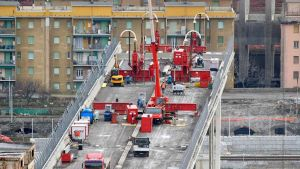 Construction activity in Italy