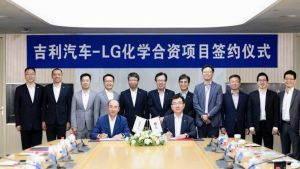 Geely Auto and LG Chem