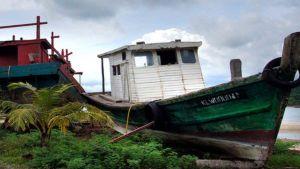 Malaysian fishing boat