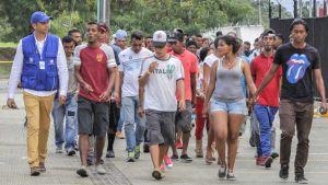 migrants from Venezuela