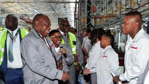 Nissan will boost employment in South Africa