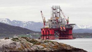 Norwegian oil field