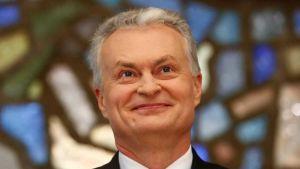President-elect Gitanas Nauseda