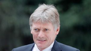 Spokesman Dmitry Peskov