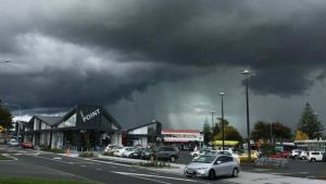 Storm in Auckland