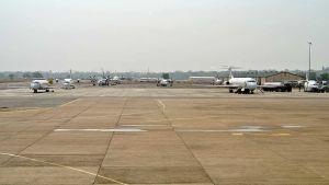 Sudan airport empty