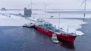 Tornio's Roytta harbour LNG