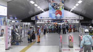 Yokohama automated train struggles