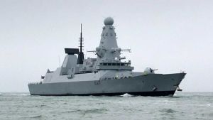Britain warship
