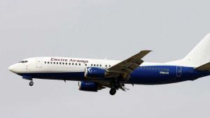 Electra Airways plane