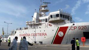 Gregoretti coastguard ship