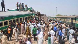 Pakistan's train collision