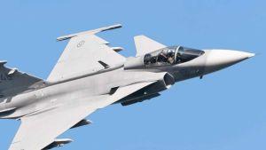 Saab plane