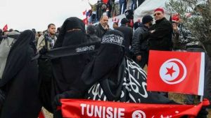 Tunisia face veils
