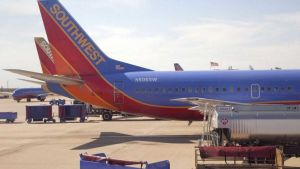 Two Southwest Airlines planes
