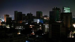 Venezuela in the dark