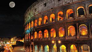 Colosseum moonlight tours