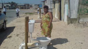 Africa toilet