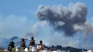 Canary Islands fire