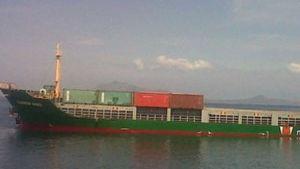 Indonesia cargo ship