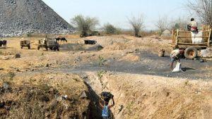 Jhilimili coal mines in Koriya