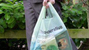 UK plastic bag