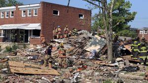 Baltimore gas explosion