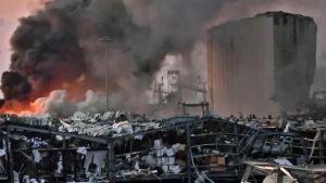 Beirut explosion EU