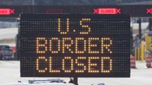 Canada America border