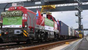 Chengdu freight train