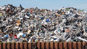 China waste