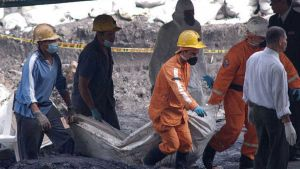 Coal mine explosion in Colombia
