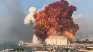Explosions in Beirut