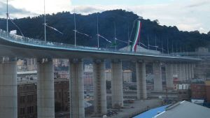 Genoa Saint George Bridge
