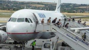 Greek airport