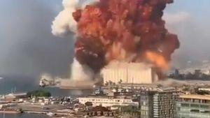 Huge Beirut explosion