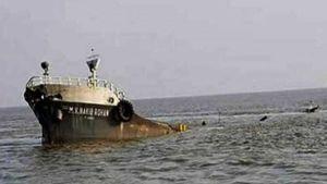 Lighter vessel sinks