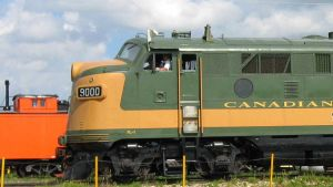 Train in Alberta
