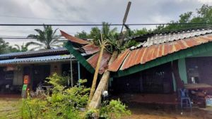 Tropical storm Sinlaku